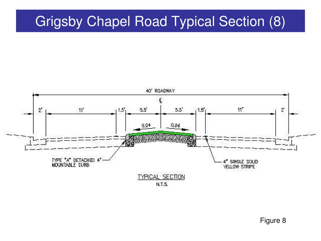 Grigsby Chapel Road Typical Section (8)