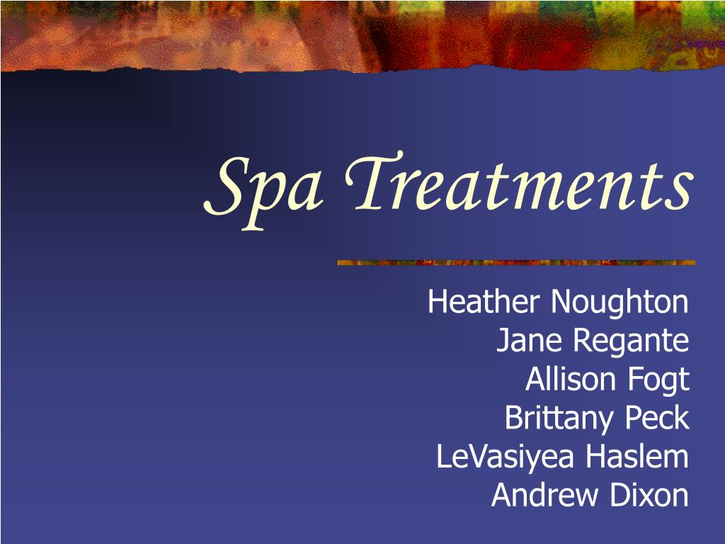 spa treatments l.