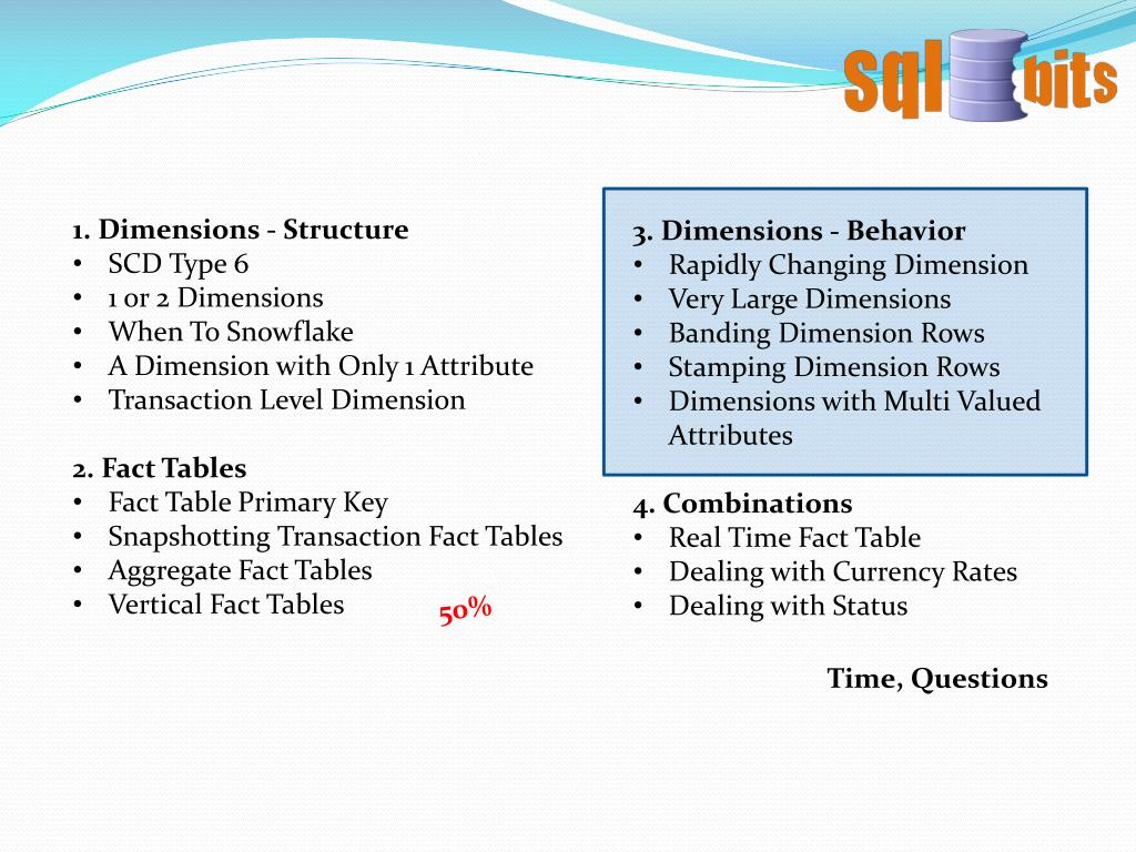 1. Dimensions - Structure