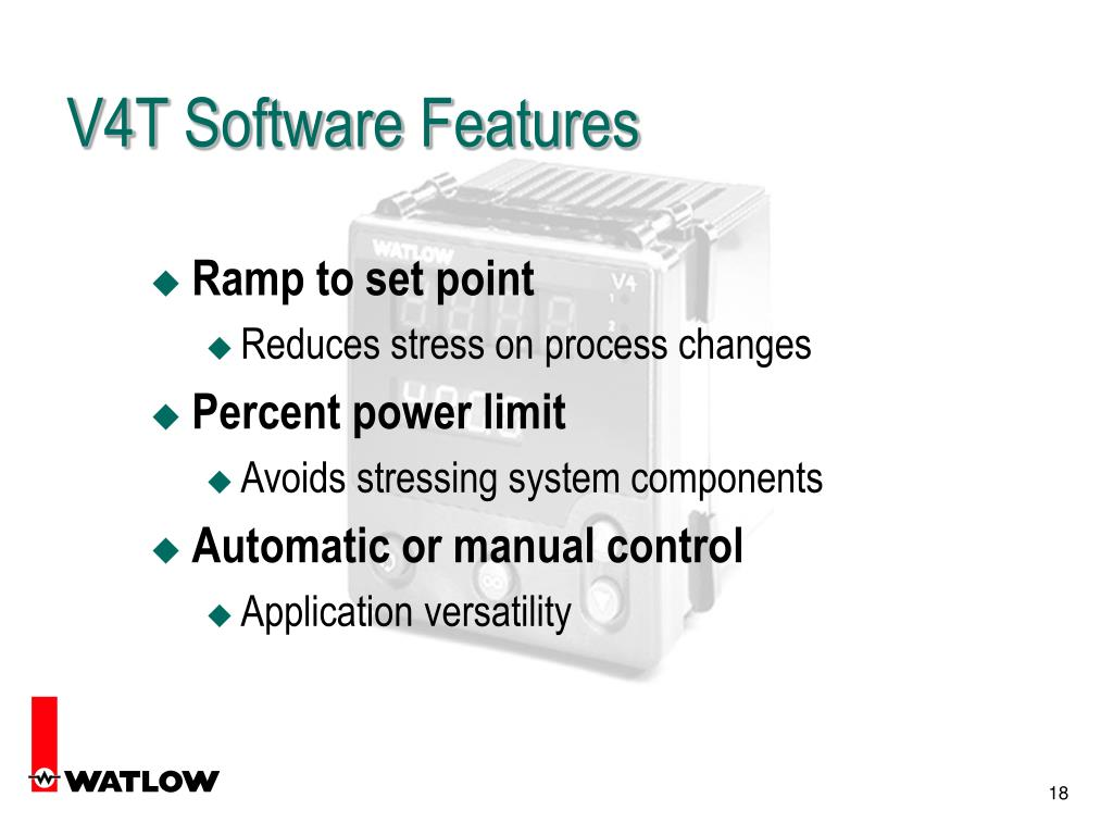 V4T Software Features