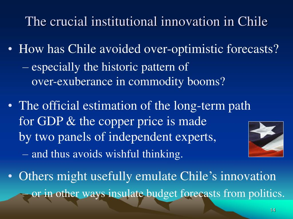 The crucial institutional innovation in Chile