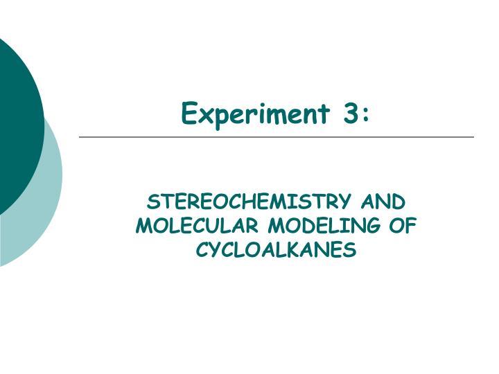 experiment 3 n.