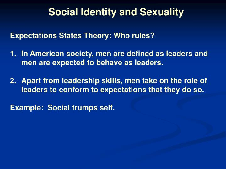 Ppt Symbolic Interactionism And Social Identity Powerpoint