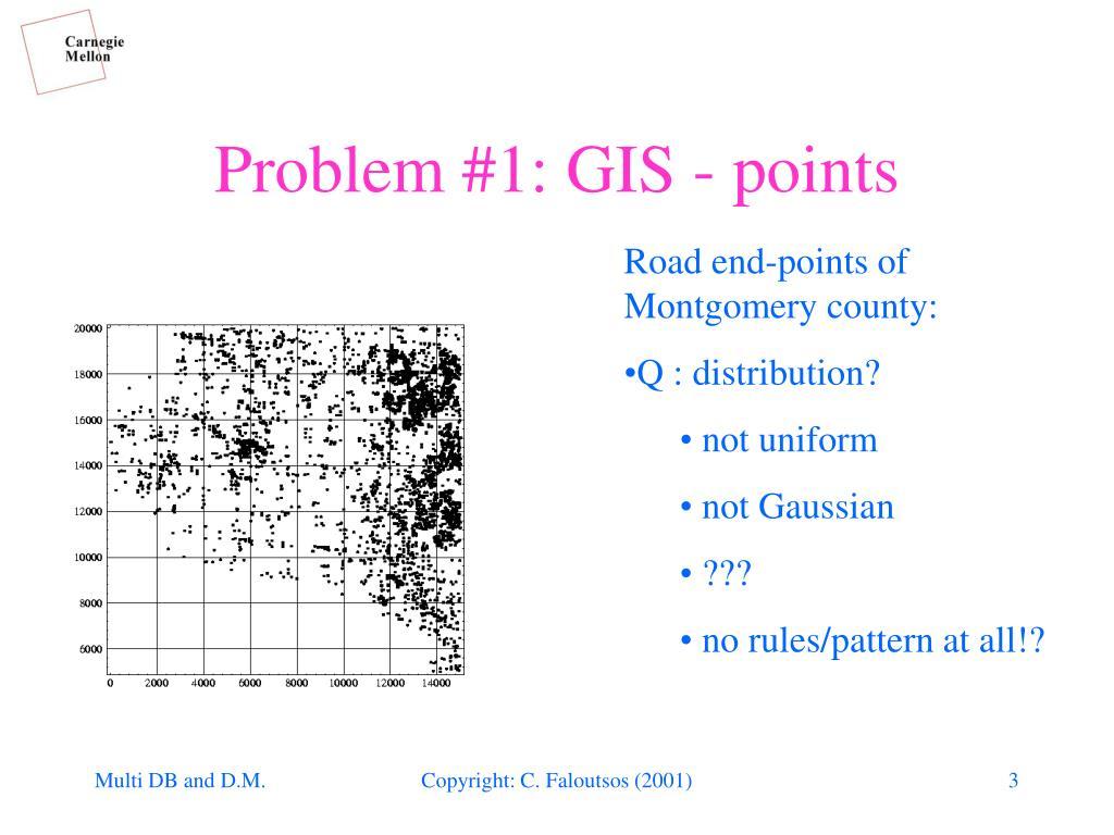 Problem #1: GIS - points