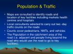 population traffic