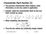 characteristic mach number 3