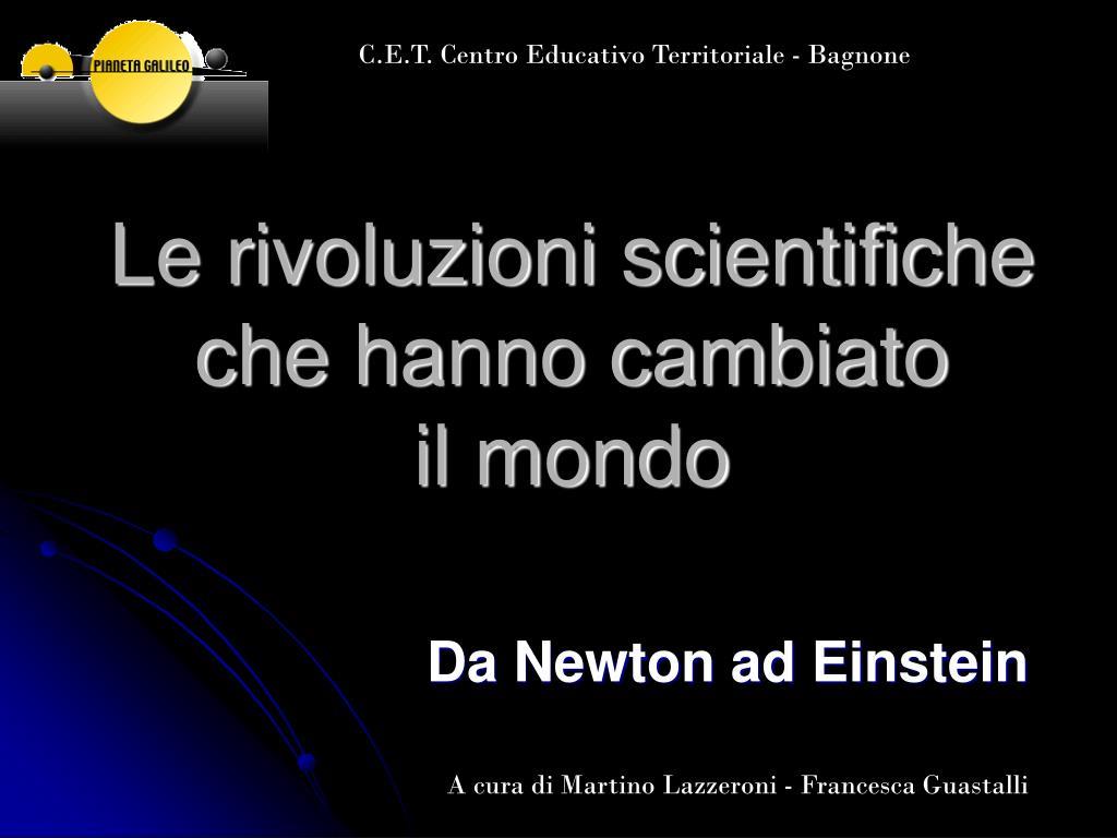 le rivoluzioni scientifiche che hanno cambiato il mondo