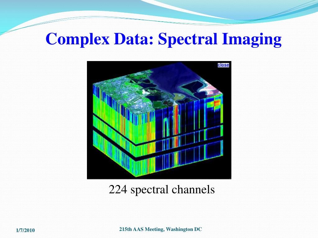 Complex Data: Spectral Imaging