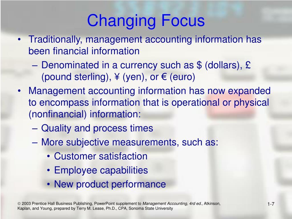 Changing Focus