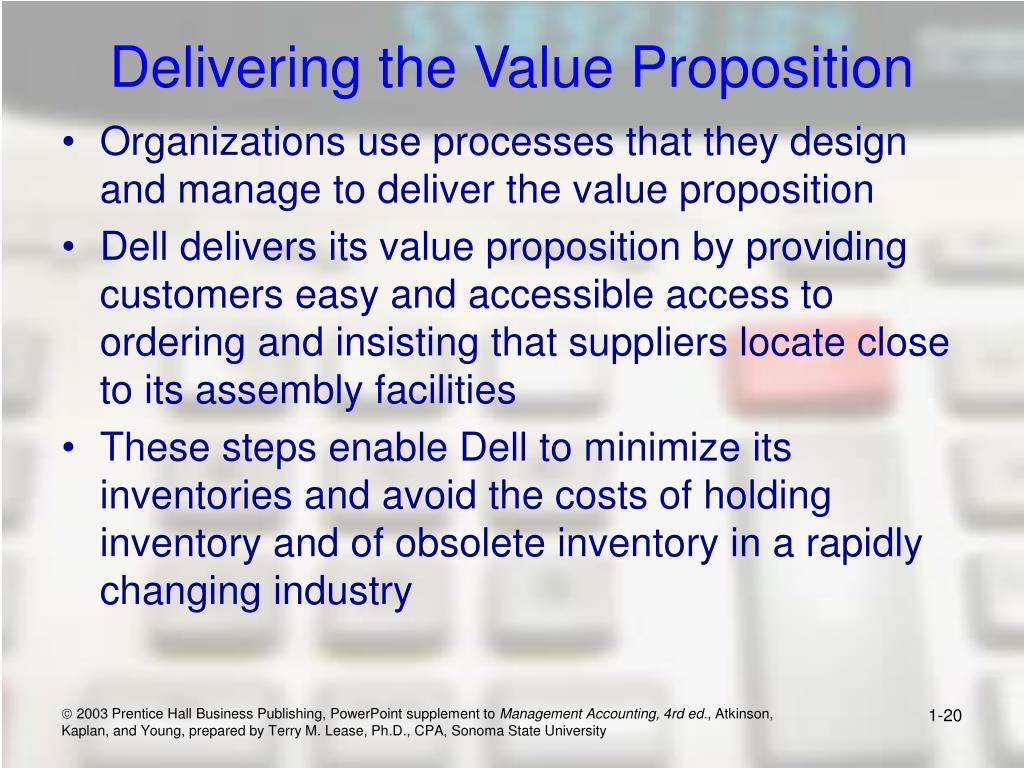 Delivering the Value Proposition