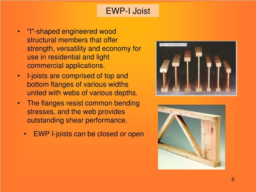 EWP-I Joist