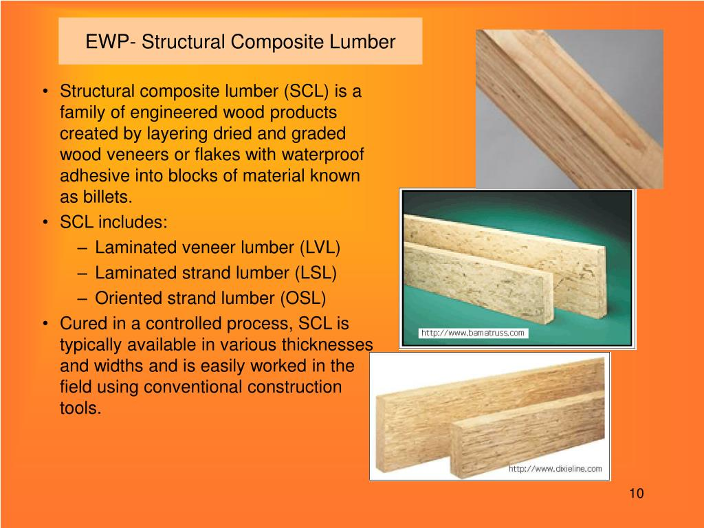 EWP- Structural Composite Lumber