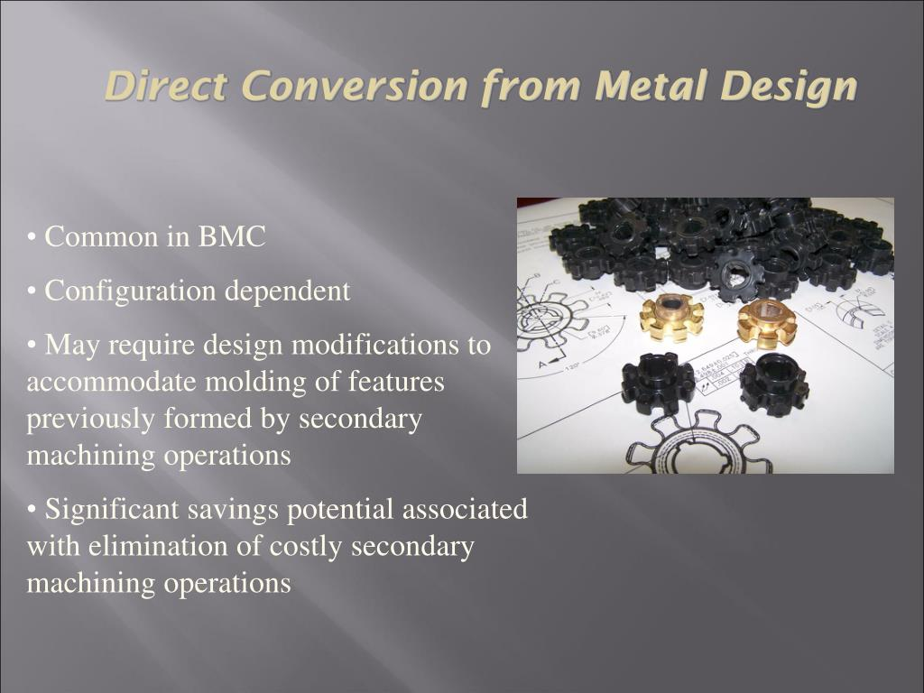 Direct Conversion from Metal Design