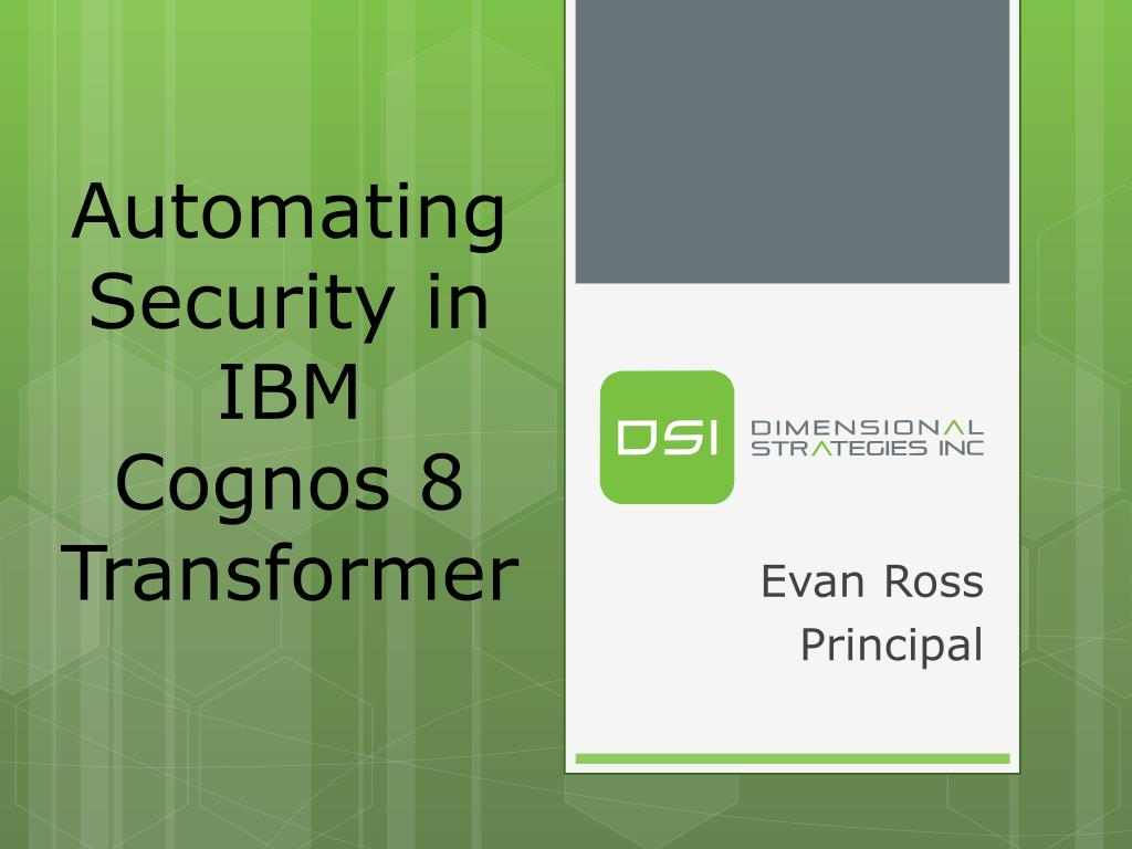 Automating Security in IBM