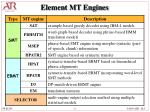 element mt engines
