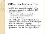 arra reauthorization data16