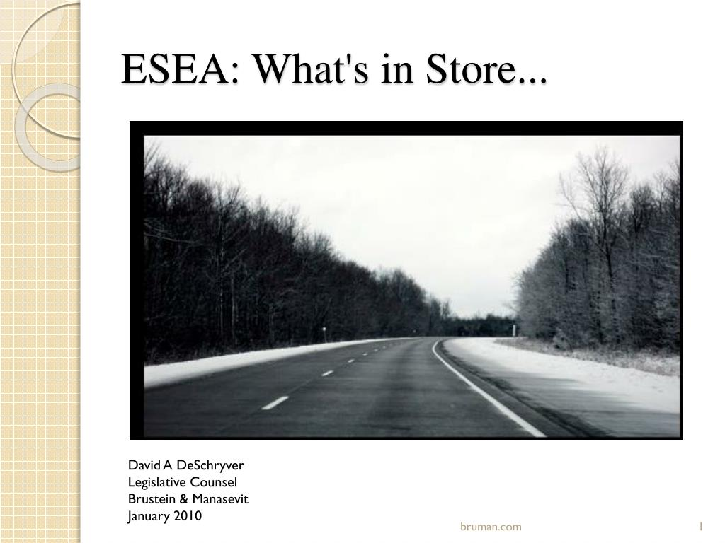 esea what s in store