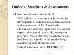 outlook standards assessments21