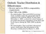 outlook teacher distribution effectiveness24
