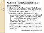 outlook teacher distribution effectiveness26