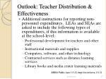 outlook teacher distribution effectiveness27