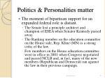 politics personalities matter41