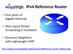 ipv4 reference router