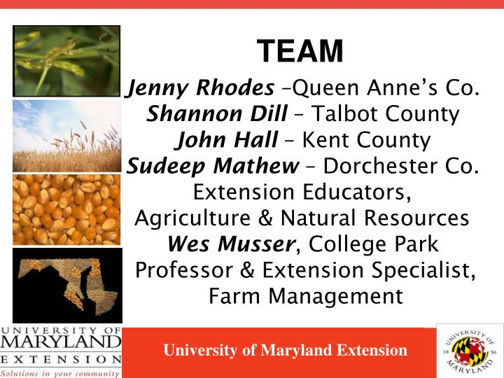 University of maryland extension2