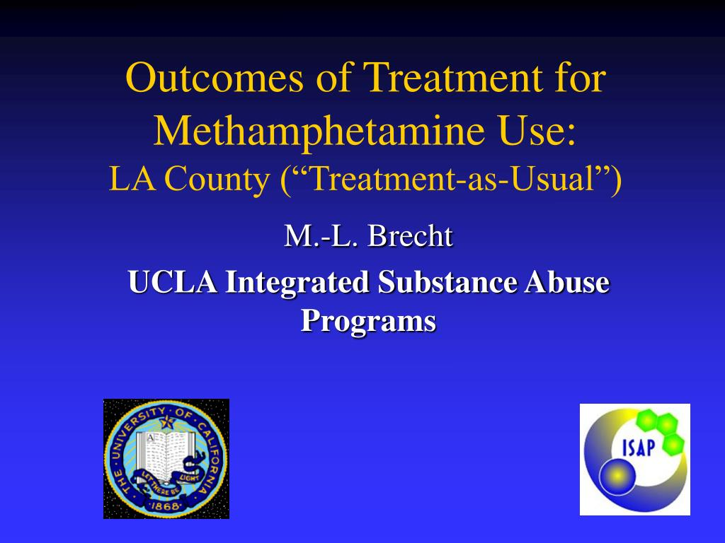 Outcomes of Treatment for Methamphetamine Use: