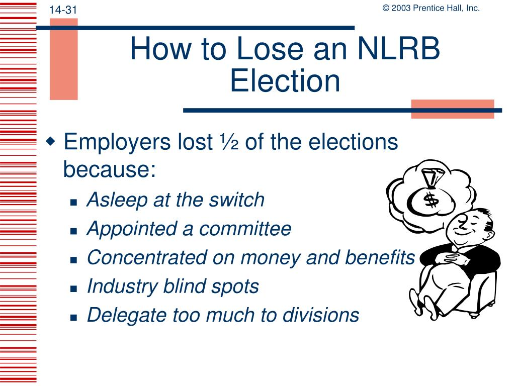 How to Lose an NLRB Election