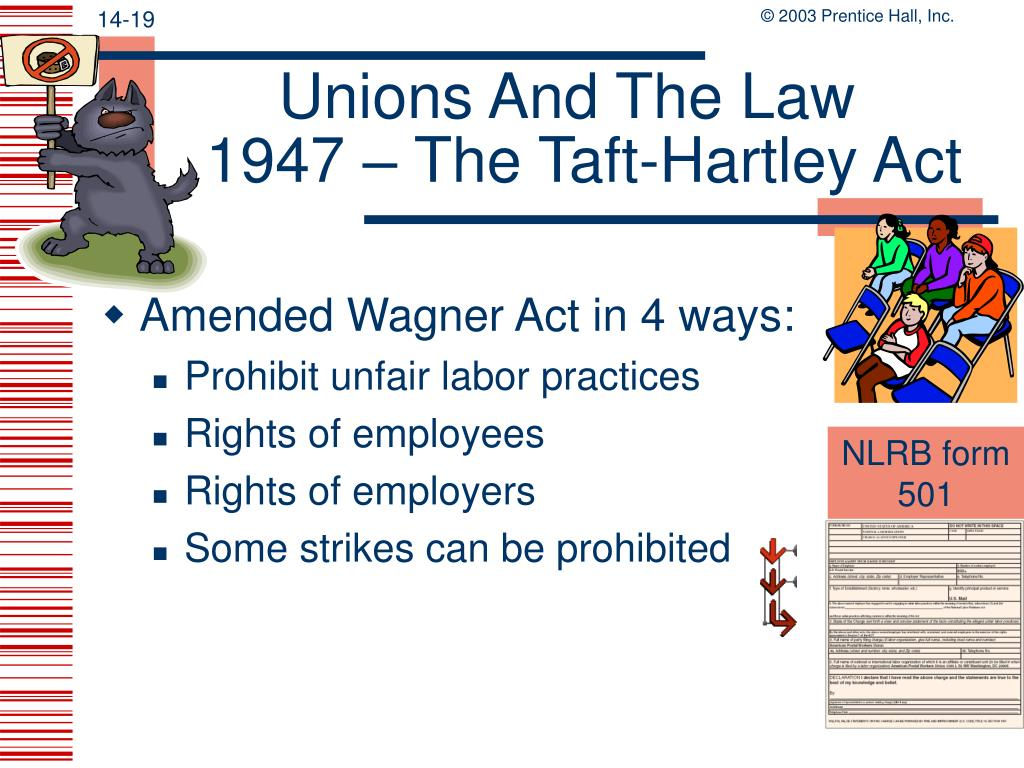 Unions And The Law