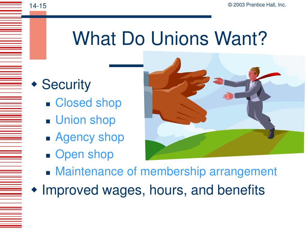 What Do Unions Want?