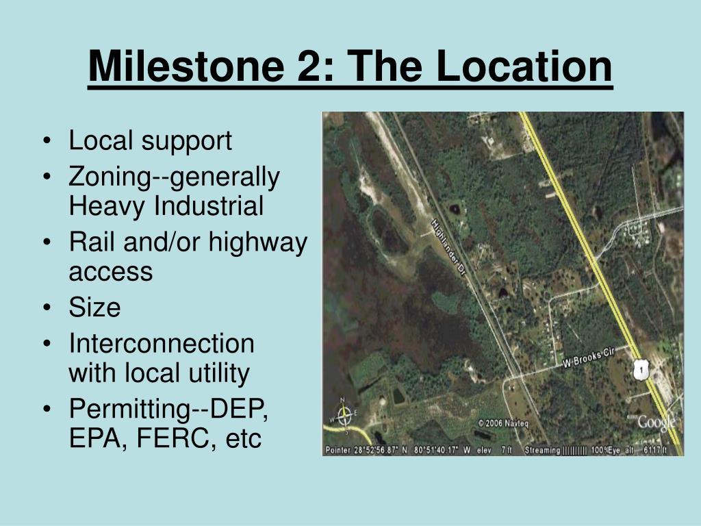 Milestone 2: The Location
