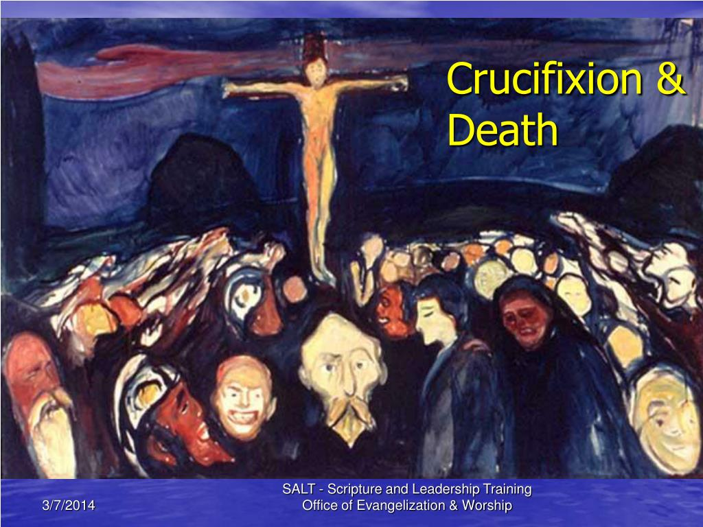 Crucifixion & Death