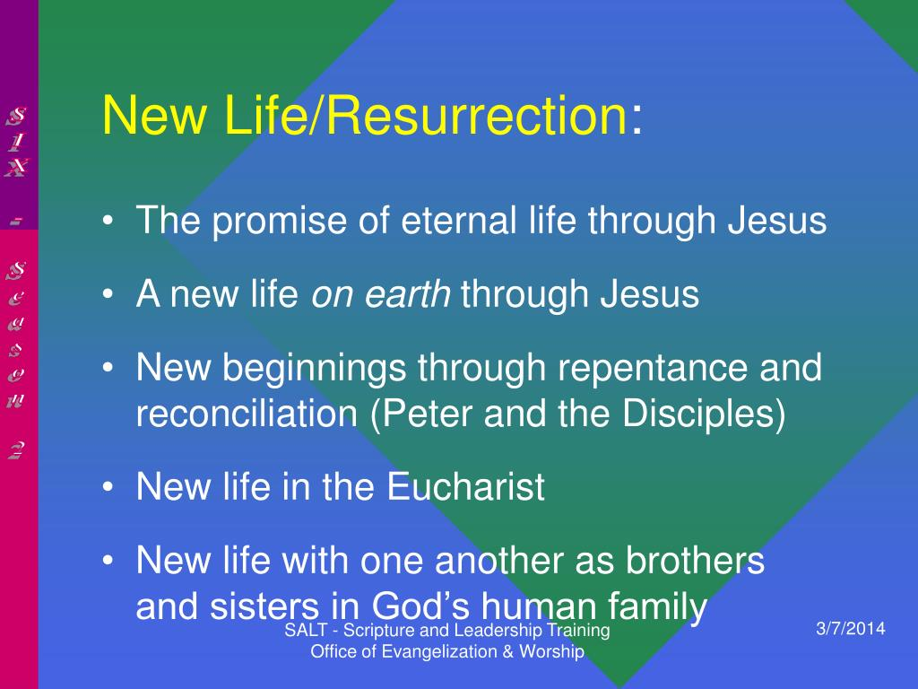 New Life/Resurrection