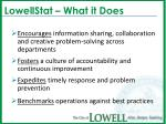 lowellstat what it does9