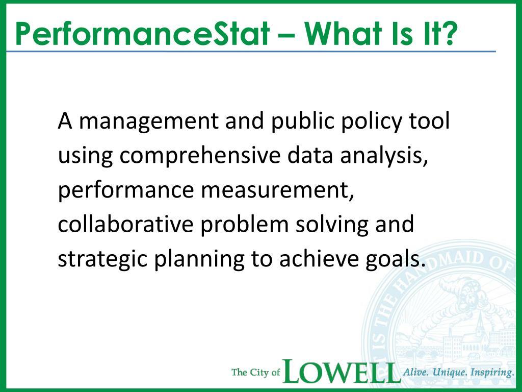 PerformanceStat – What Is It?