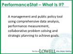 performancestat what is it