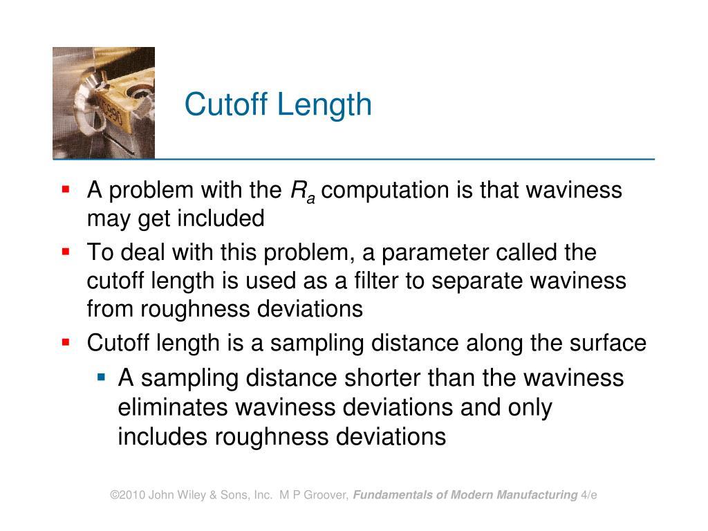 Cutoff Length