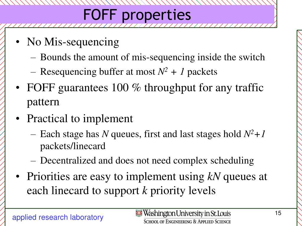 FOFF properties