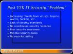 post y2k it security problem