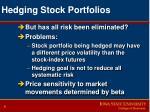 hedging stock portfolios9