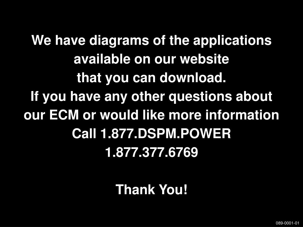 We have diagrams of the applications