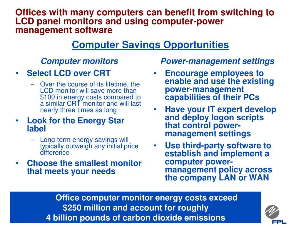 Computer Savings Opportunities