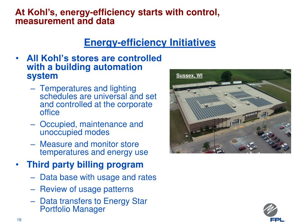 Energy-efficiency Initiatives