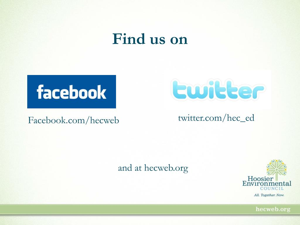 Find us on