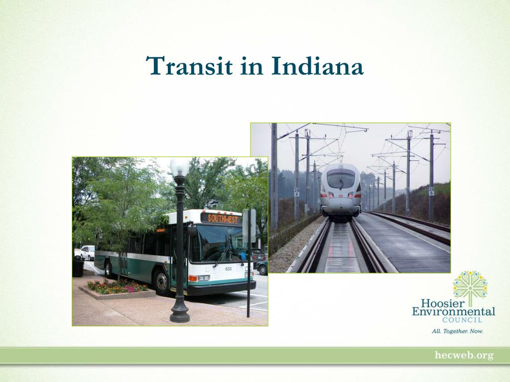 Transit in Indiana