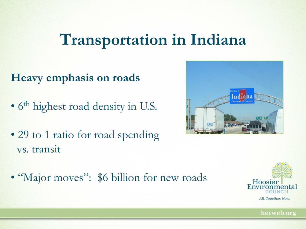 Transportation in Indiana