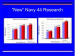new navy 44 research