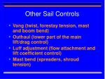 other sail controls